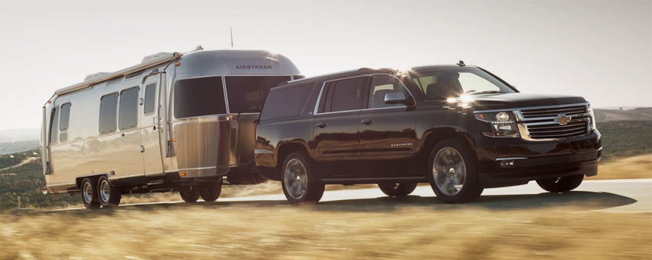 2018 Suburban SUV Performance: towing
