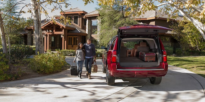2018 Tahoe SUV Exterior Photo: programmable power lift gate