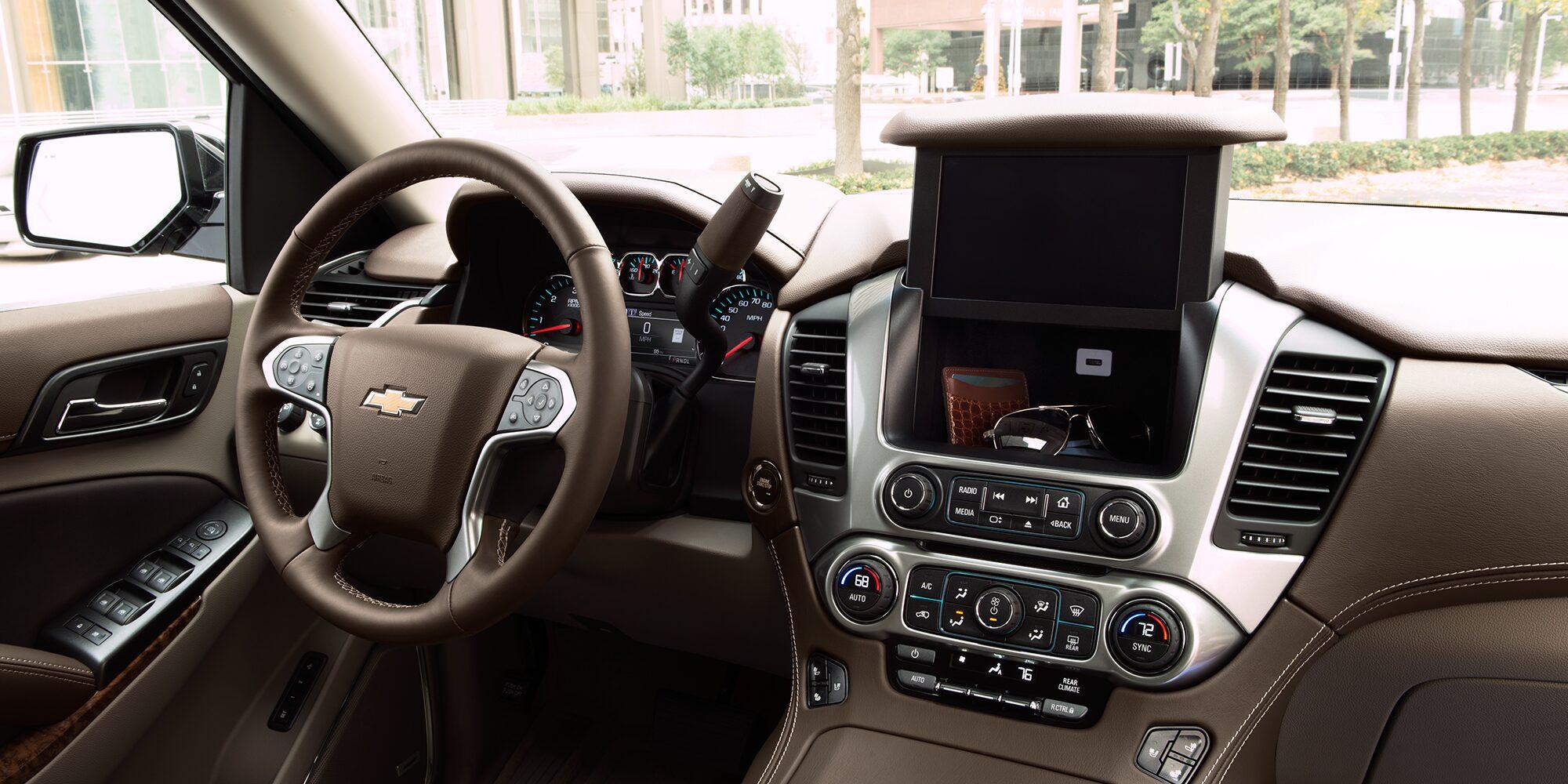 2018 Tahoe SUV Interior Photo: Center Dashboard Storage
