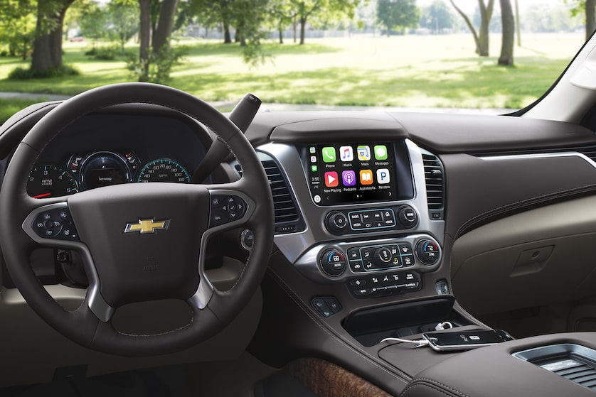2018 Tahoe SUV Design: dashboard- MyLink