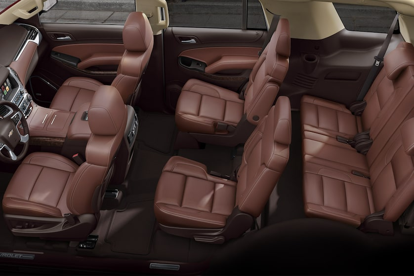 2018 Tahoe Suv Design Third Row Seating