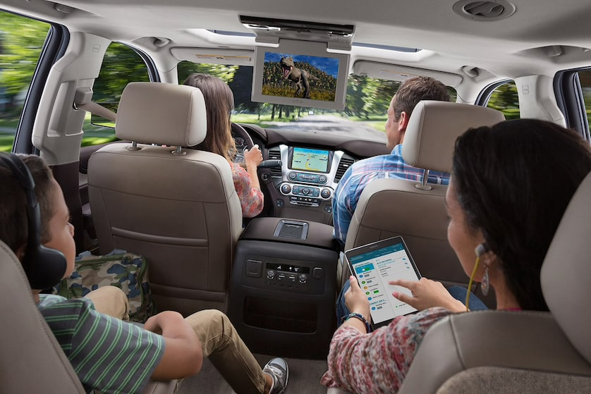 2018 Tahoe SUV Design: seating