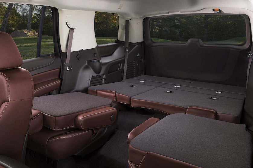 2018 Tahoe Suv Design Fold Down Seating