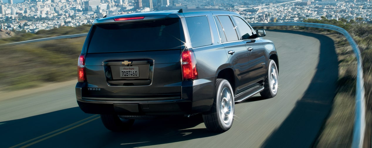 2018 Tahoe SUV Performance: rear