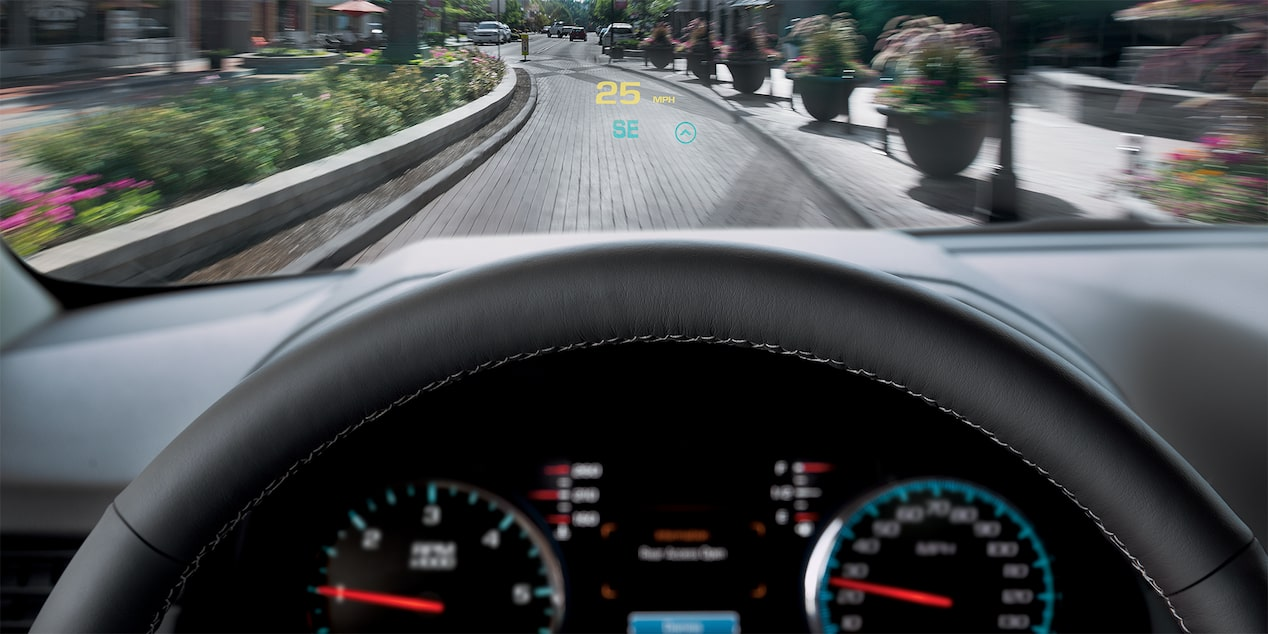 2018 Tahoe SUV Technology: head-up display