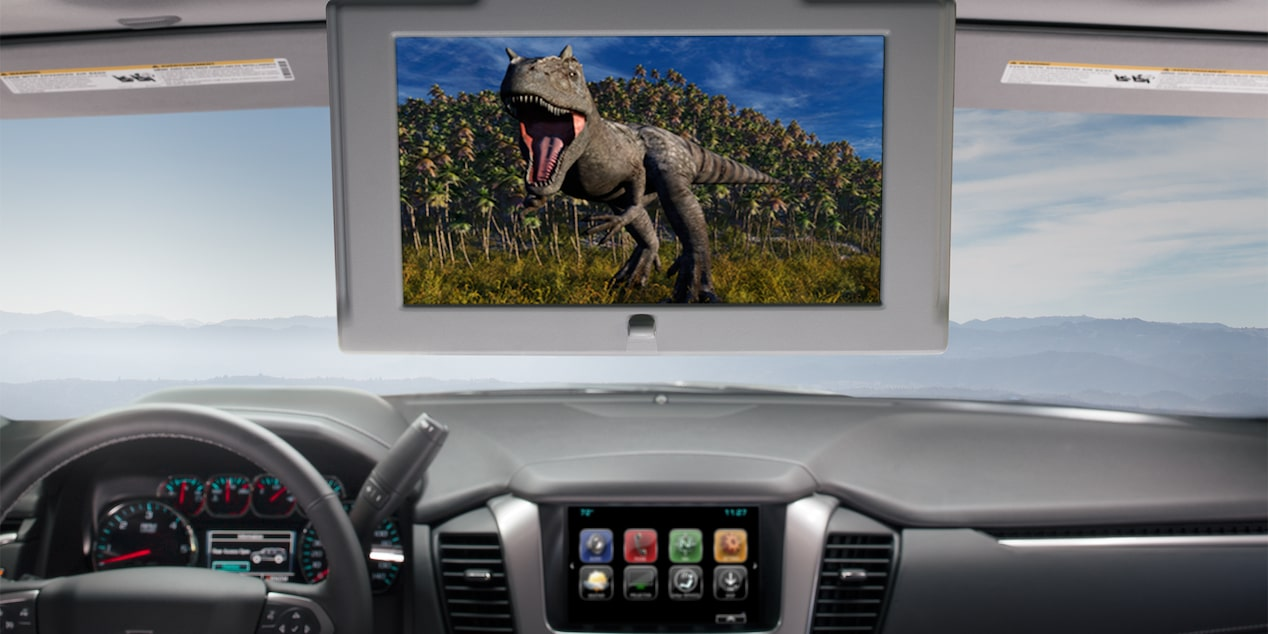 2018 Tahoe SUV Technology: built-in entertainment system