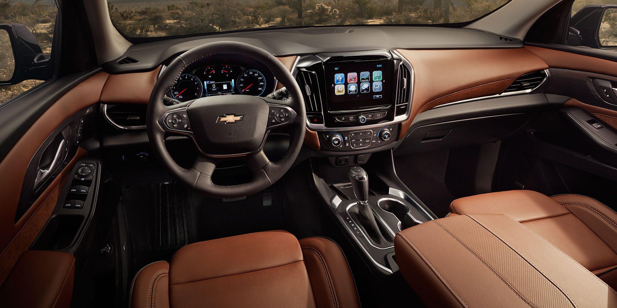 Beautiful 2018 Traverse Midsize SUV Interior Photo: Front Driver Seat