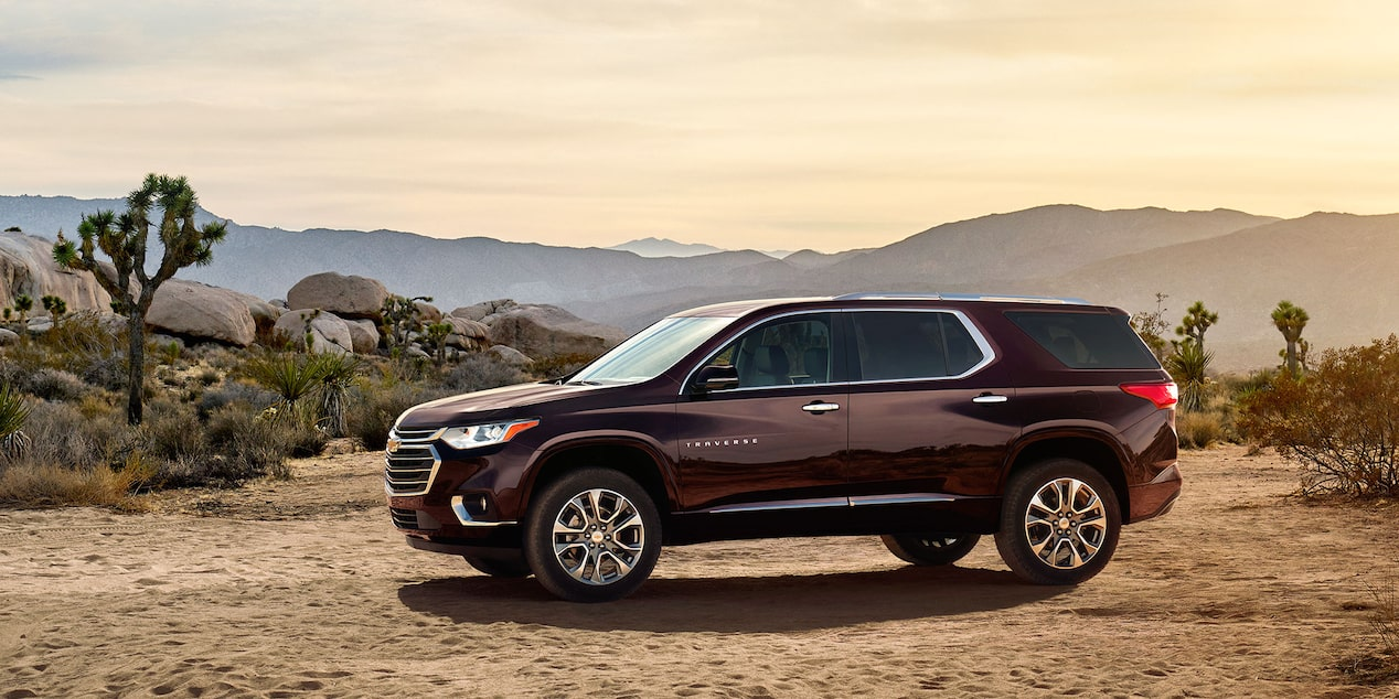 2018 traverse midsize suv design side profile