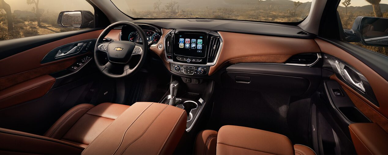 2018 chevrolet traverse interior. perfect interior 2018 traverse midsize suv design interior front seats throughout chevrolet traverse 0