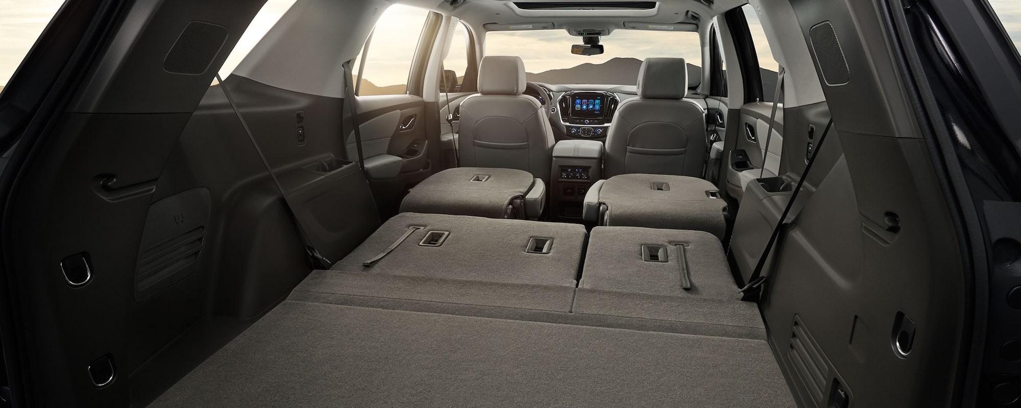 Superb 2018 Traverse Midsize SUV Design: Cargo Space