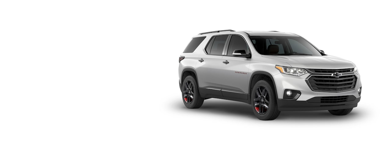 All New 2018 Traverse Mid Size SUV: Redline