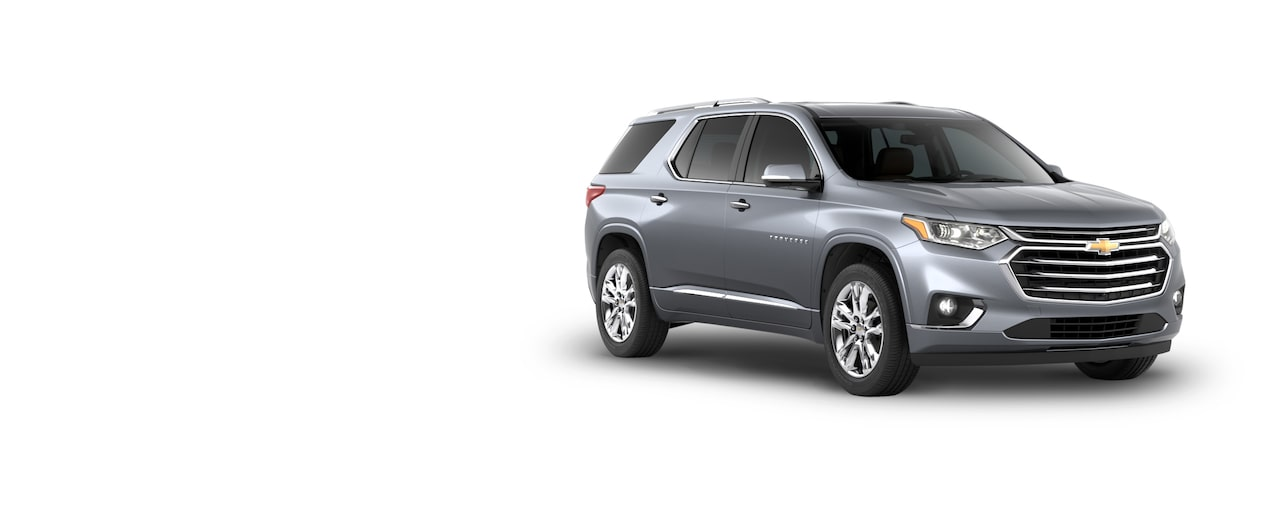 All New 2018 Traverse Mid Size SUV: High Country