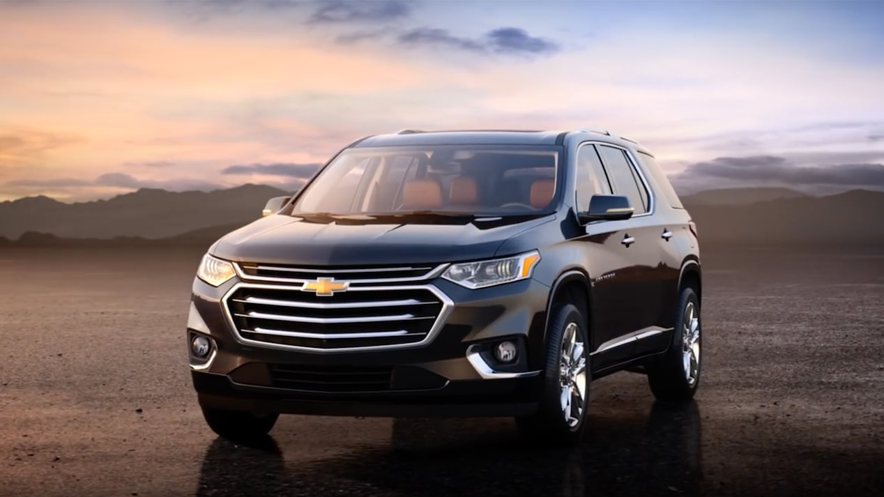 2018 traverse midsize suv video