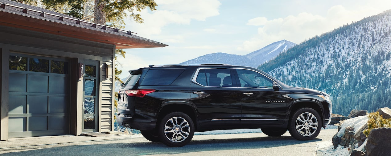 All New Chevrolet Traverse Midsize Suv 2019 2018