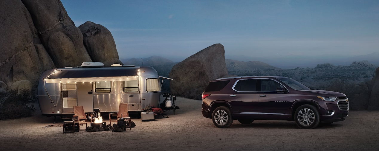 2018 Traverse Midsize SUV Performance: Towing