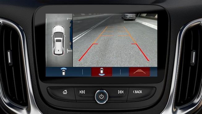 All New 2018 Traverse Safety: Surround Vision