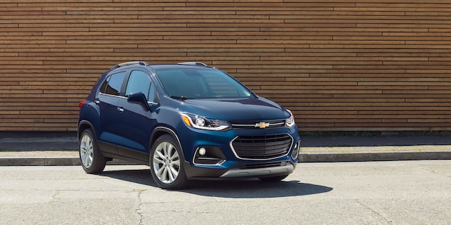 2018 Trax Small SUV Exterior Photo: front