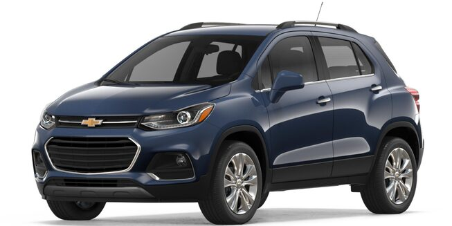 2018 Trax Small SUV: front