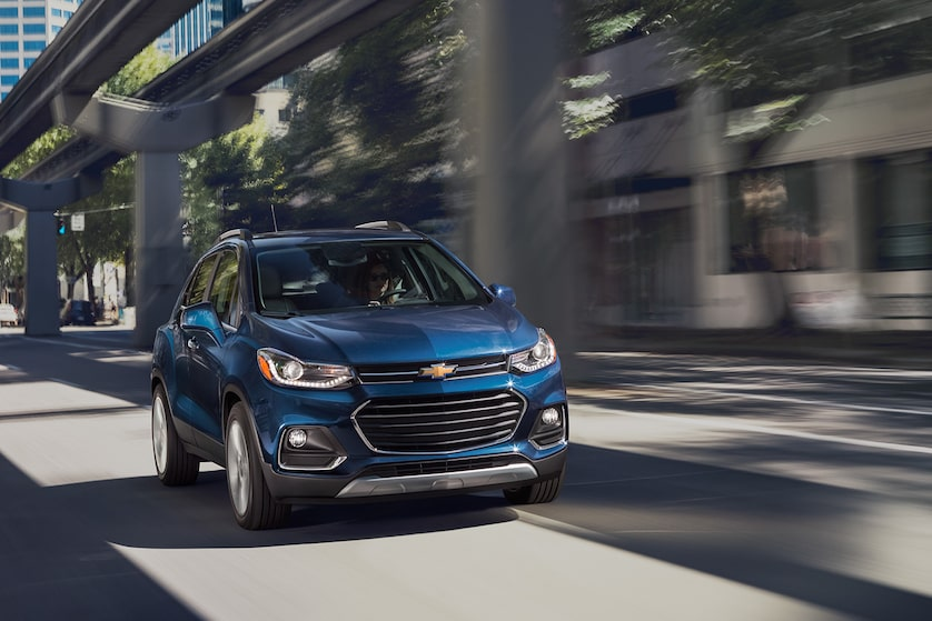 2018 Trax Small SUV Design: dual-port grille