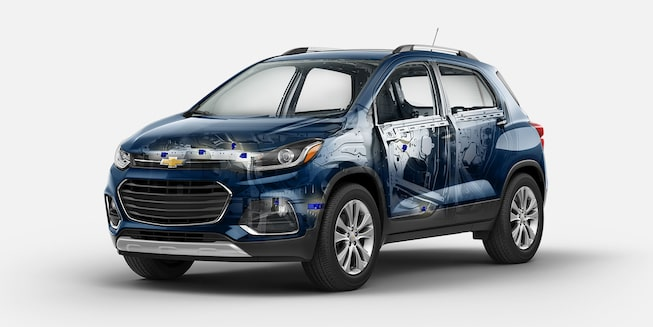 2018 Trax Small SUV Safety: airbags