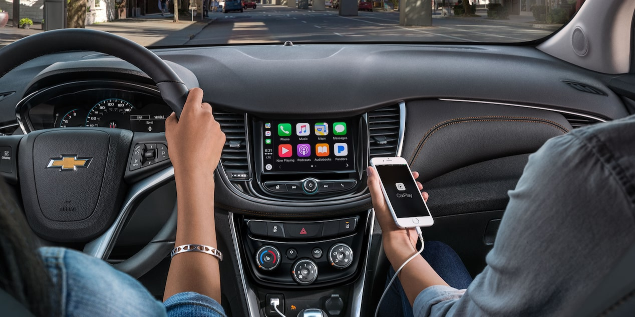 2018 Trax Small SUV Technology: available phone integration