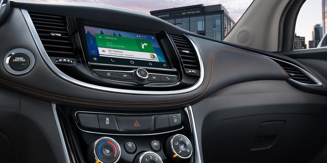 2018 Trax Small SUV Technology: touch-screen display