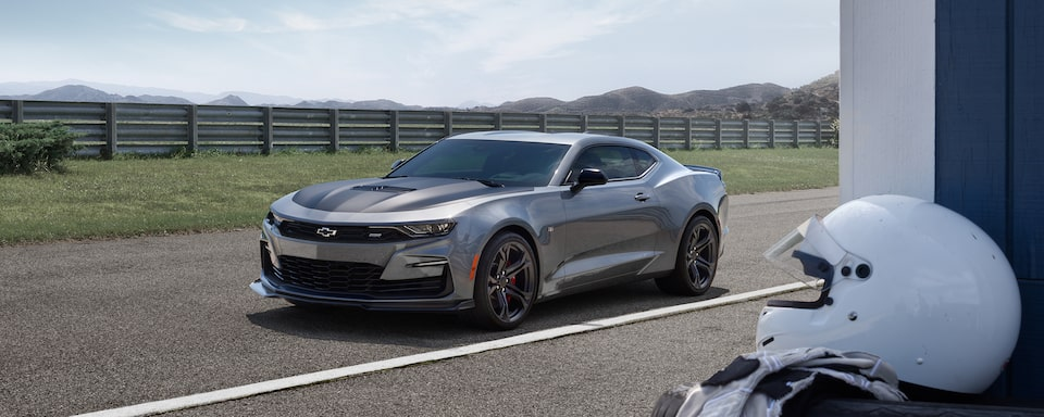 2020 Camaro SS 1LE front