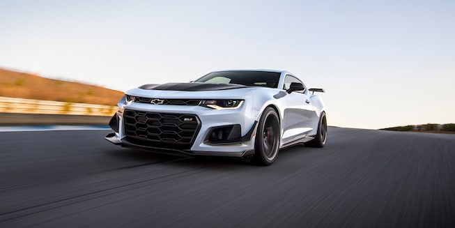 2018 Camaro Sports Car Exterior Photo: front grille 2