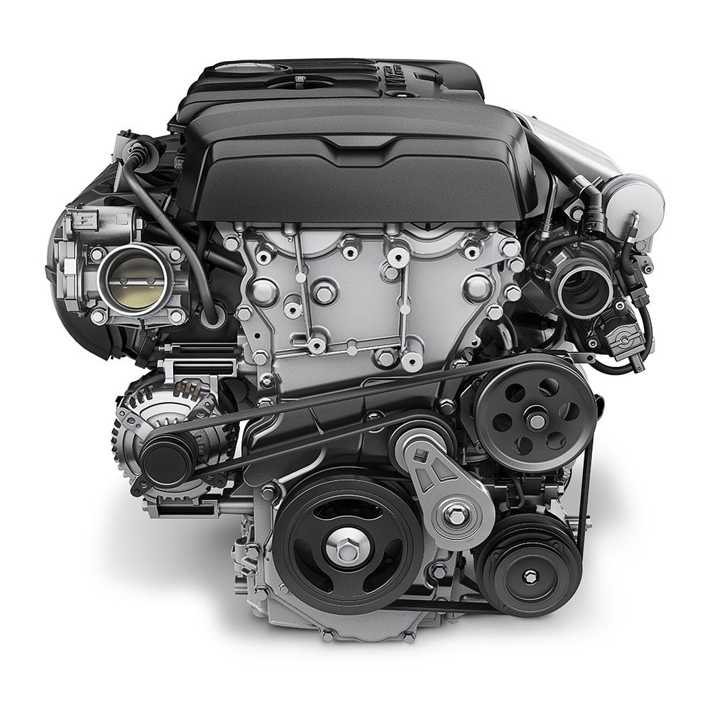 2-liter turbo engine