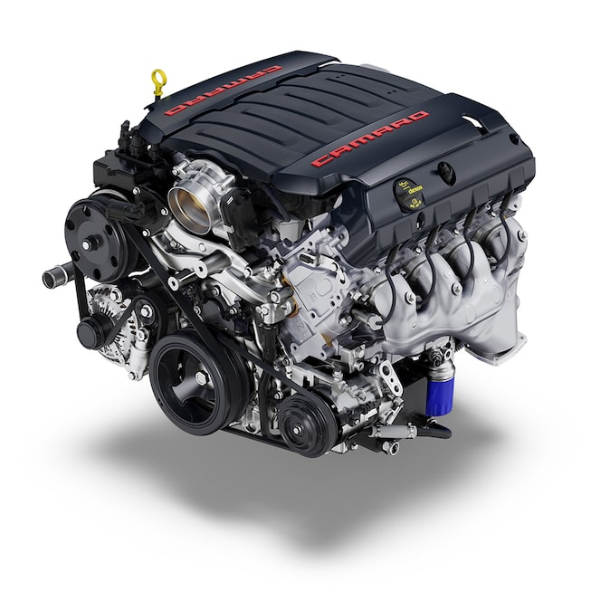 2018 Camaro Sports Car Performance: V8 engine