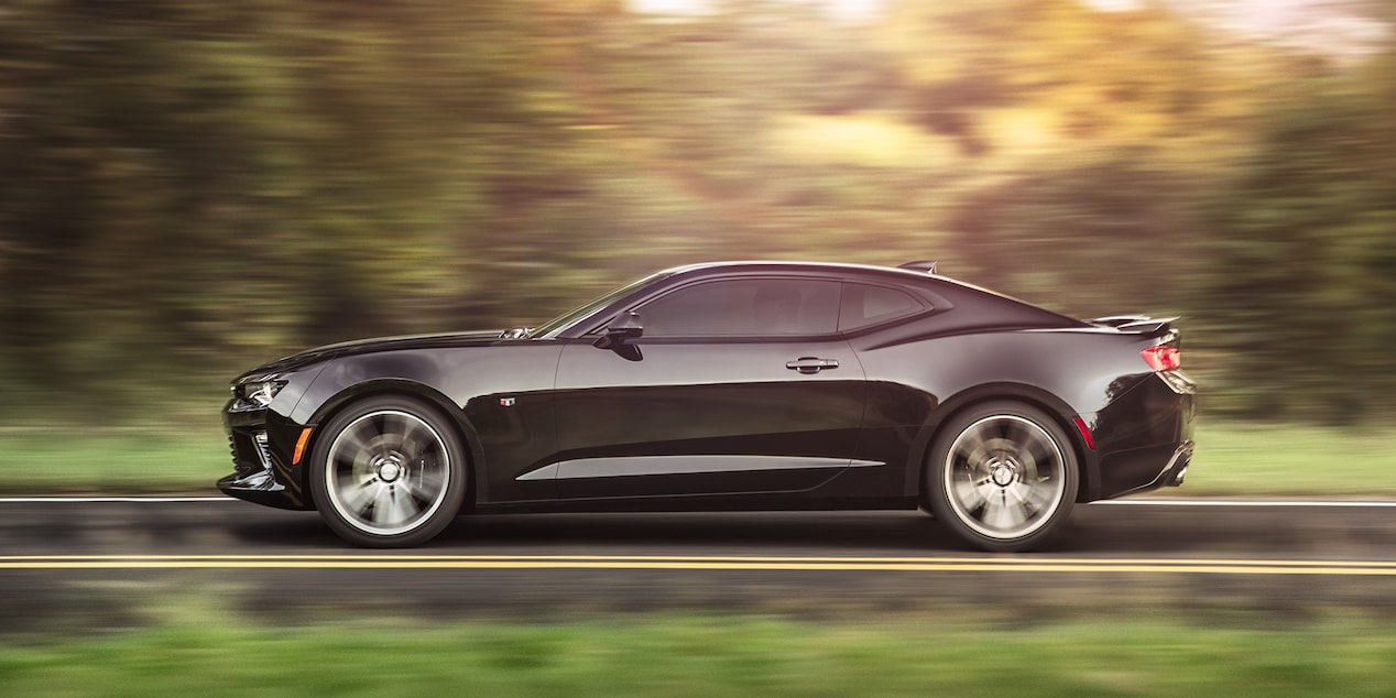 2018 Camaro Sports Car Design: side profile