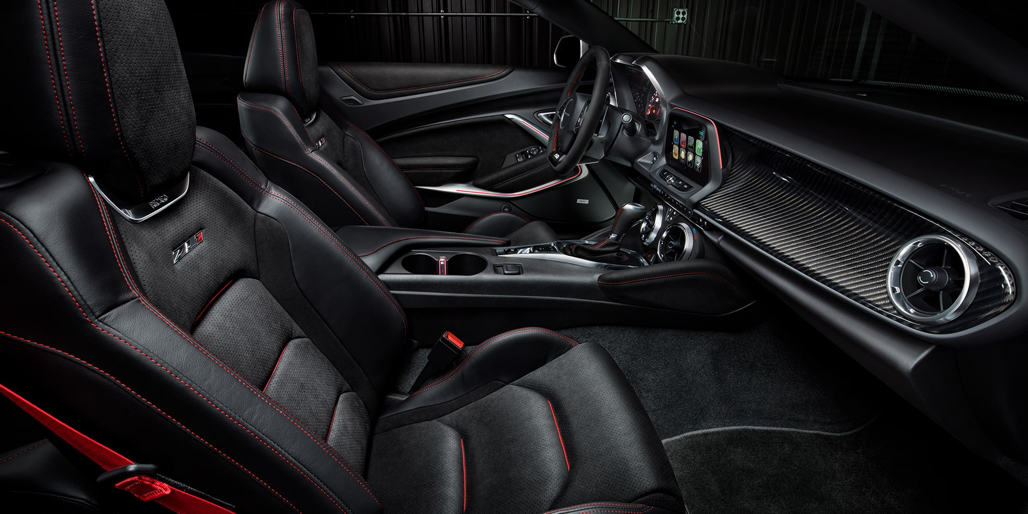 2018 Camaro Sports Car Performance: Interior