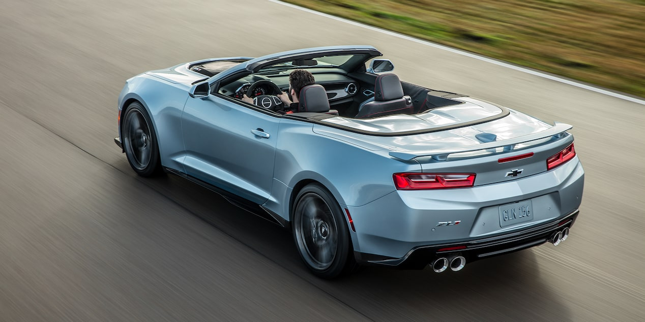 2018 Camaro Sports Car Design: convertible rear view