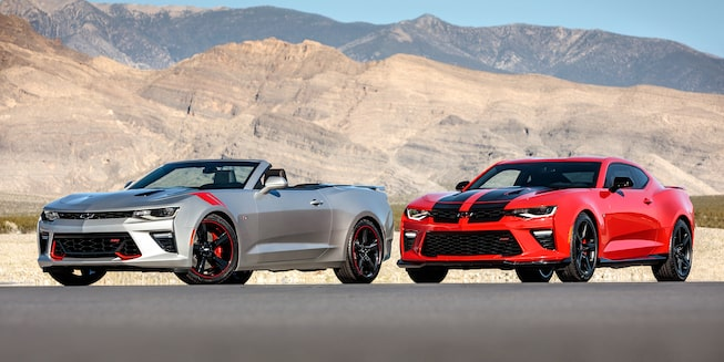 2018 Camaro Sports Car Design: special editions