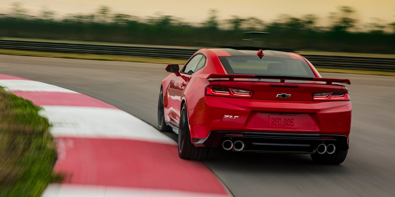2018 Camaro Sports Car Performance: rear view