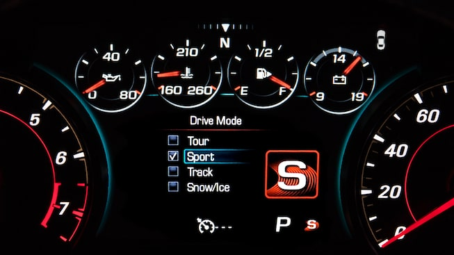 2018 Camaro Sports Car Technology: reconfigurable instrument cluster