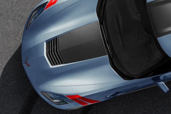 2018 Corvette Grand Sport Sports Car Design: hood 3