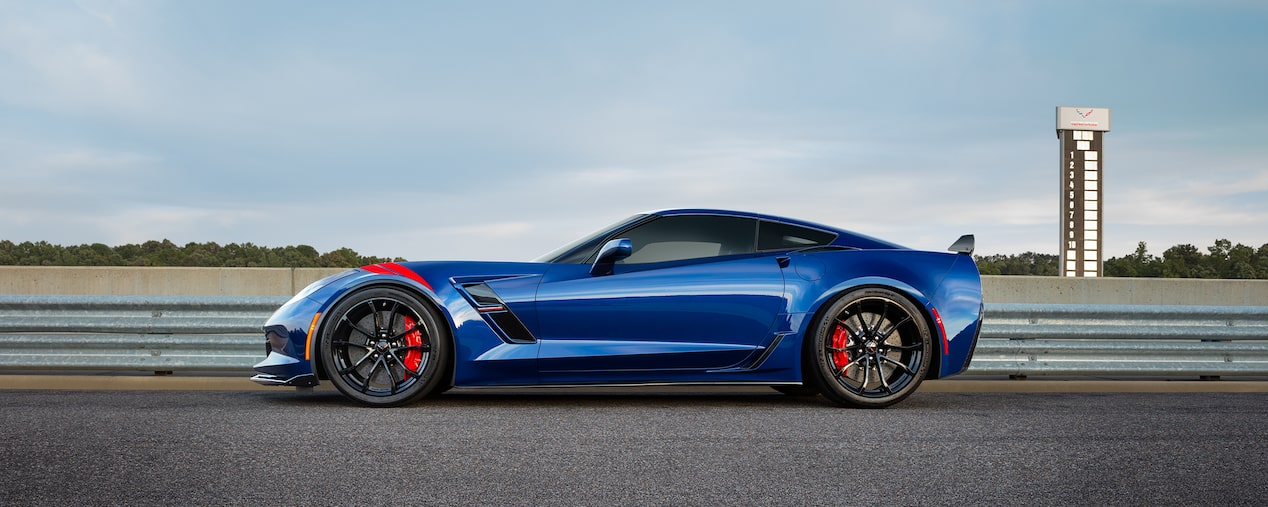 2018 Corvette Grand Sport Sports Car Performance: side