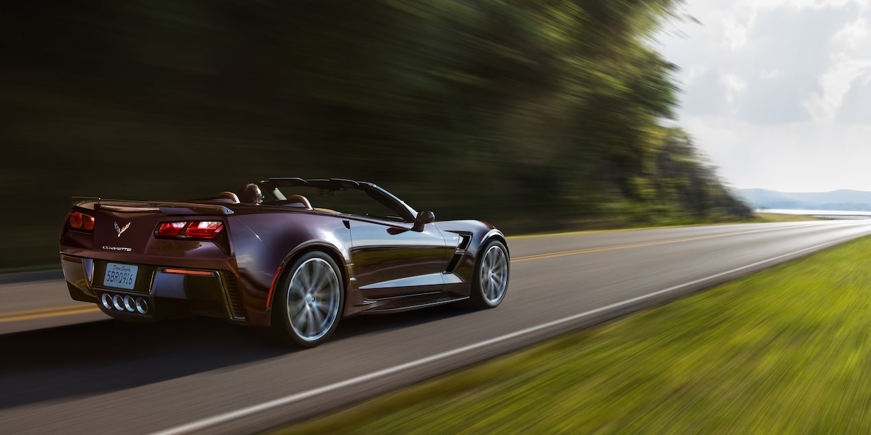 2018 Corvette Grand Sport Sports Car Design: side