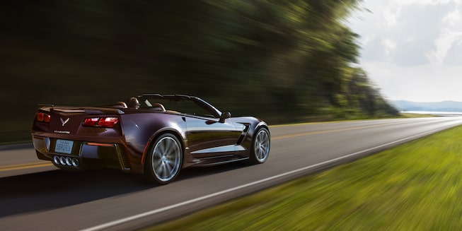 2018 Corvette Grand Sport Exterior Photo: side rear