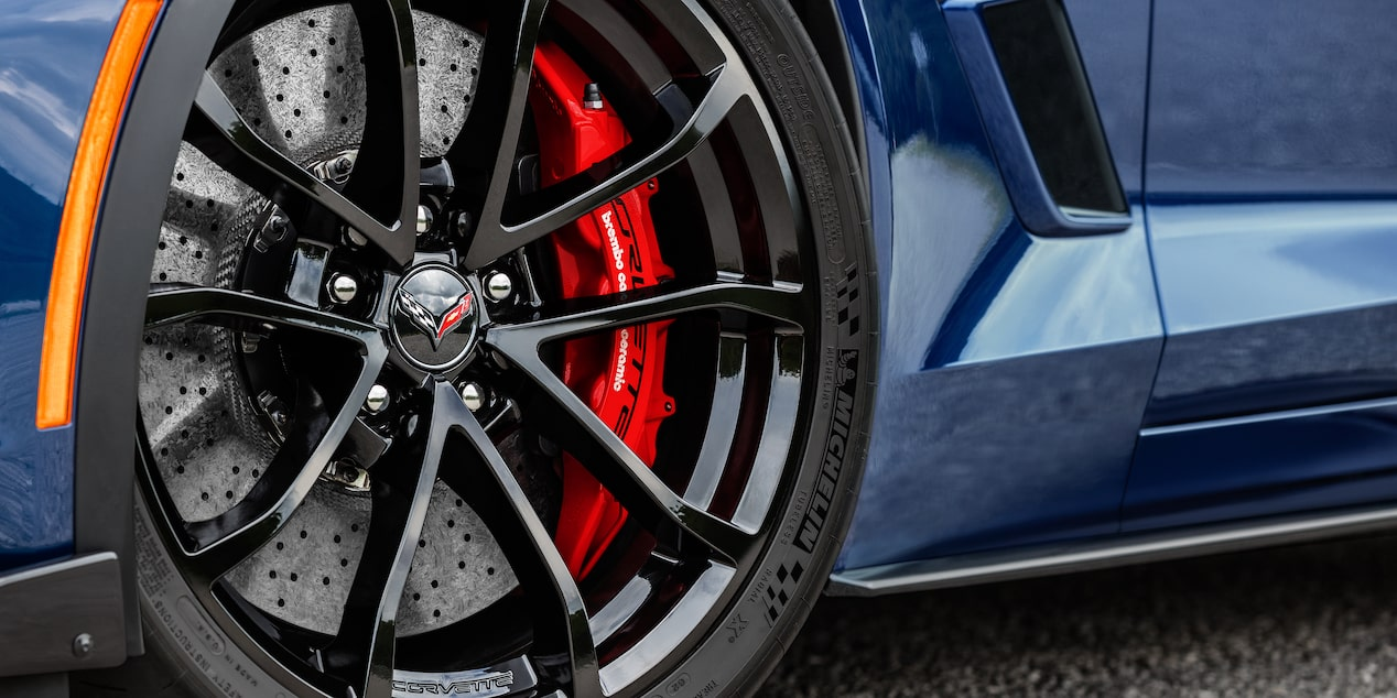 2018 Corvette Grand Sport Sports Car Design: wheel