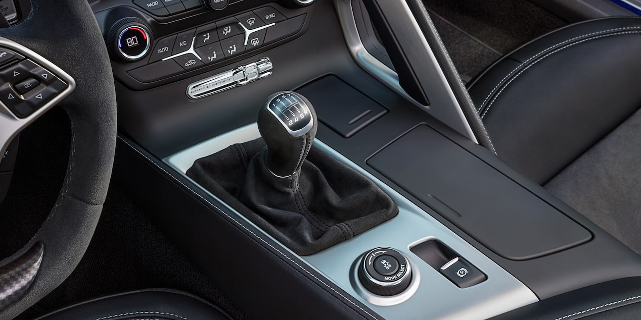 2018 Corvette Grand Sport Sports Car Design: shifter knob