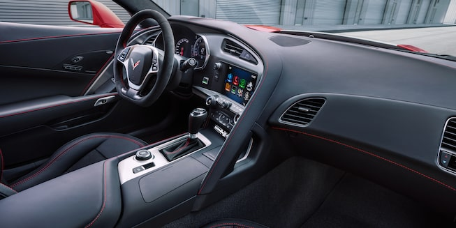 2018 Corvette Grand Sport Interior Photo: driver cockpit