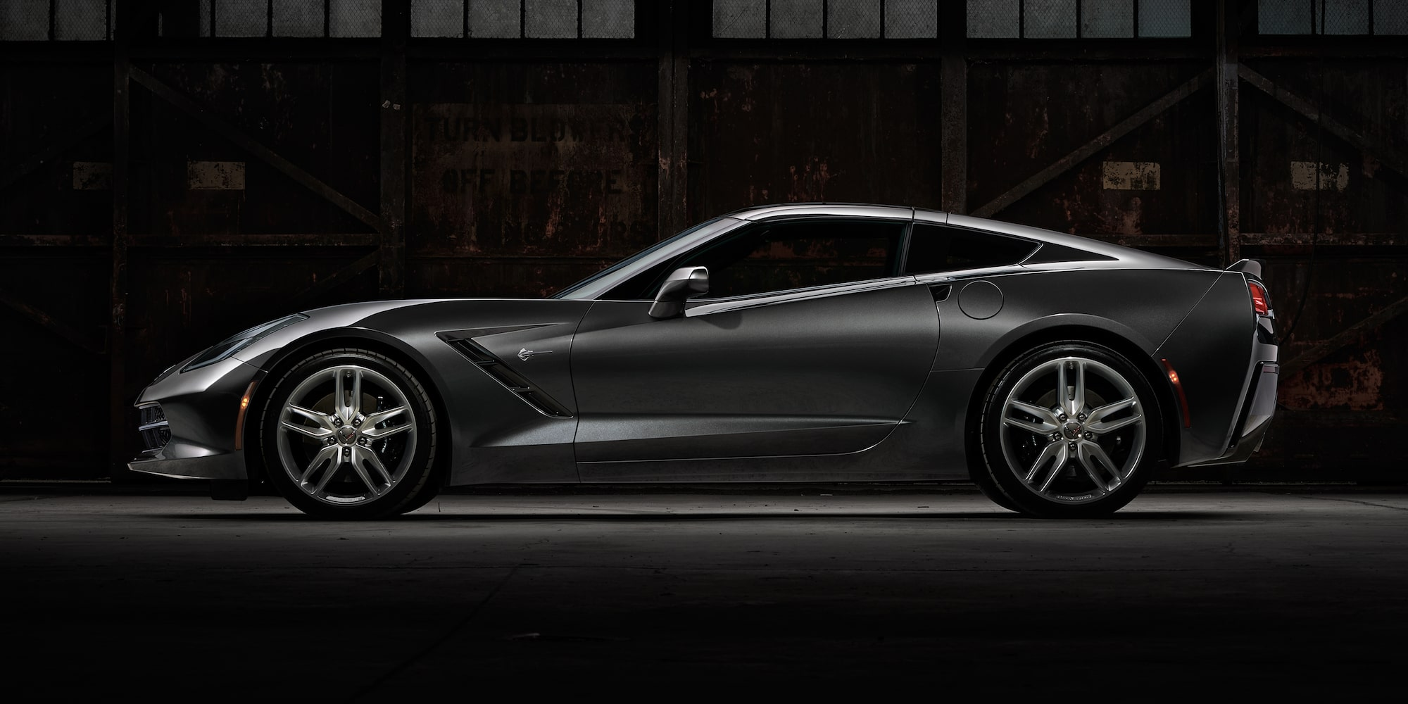 2018 Corvette Stingray Exterior Photo: Side Profile