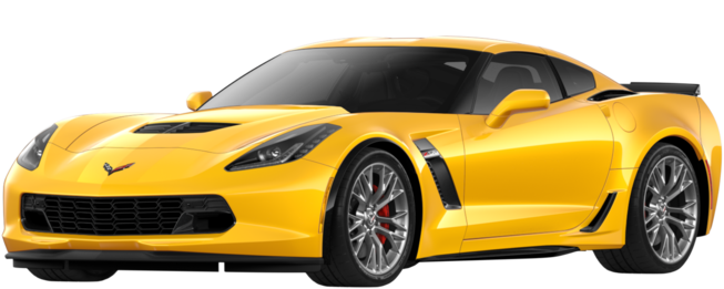 2018 Corvette Z06 Super Car: Side