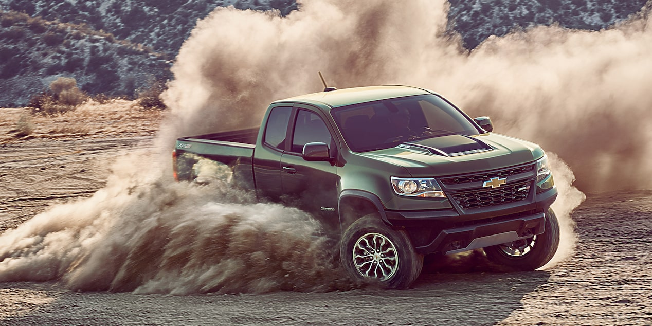 2018 Colorado ZR2 Off Road Truck Design: front