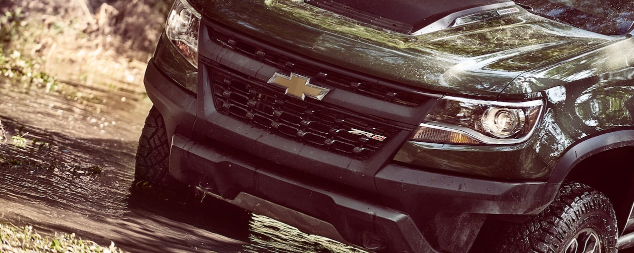 2018 Colorado ZR2 Off Road Truck Performance: front