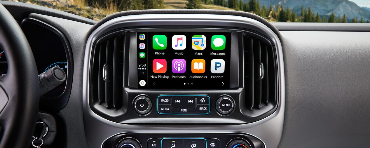 2018 Colorado ZR2 Off Road Truck Technology: Color Touch Radio