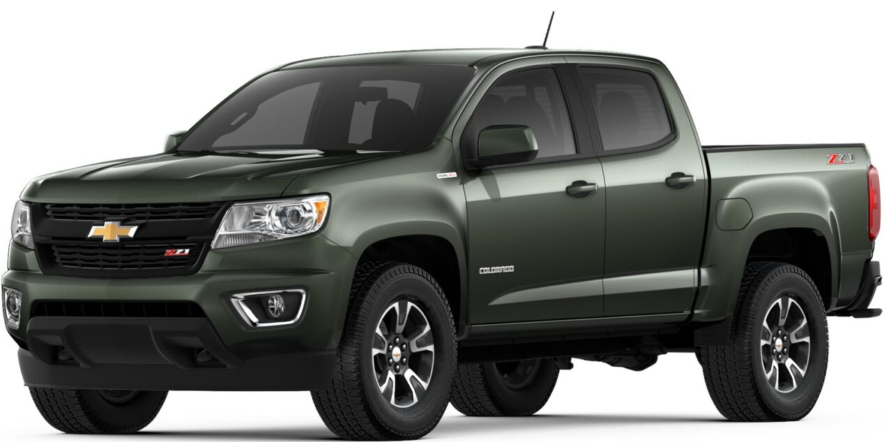 2018 Colorado Mid Size Truck Chevrolet