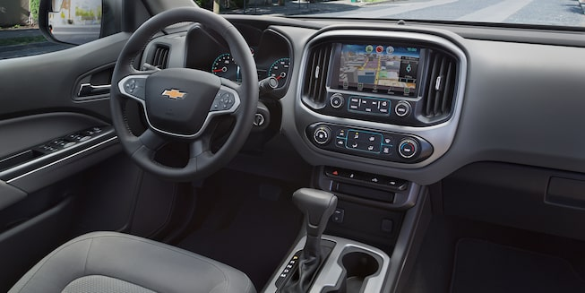 2018 Colorado Midsize Truck Interior Photo: driver seat